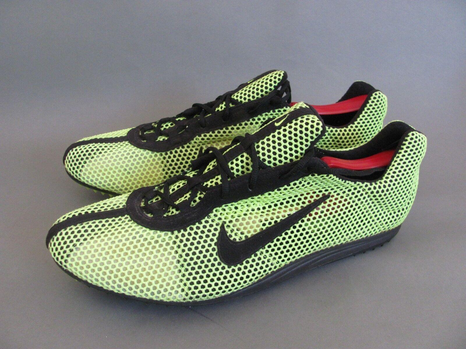 2002 Nike Zoom Bowerman Series Mesh Track Field Spike shoes, Men's US 13 NEW