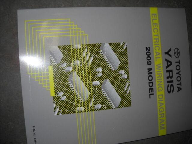 2009 Toyota Yaris Electrical Wiring Diagram Manual Ewd