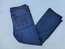 WOMENS LUCKY BRAND DUNGAREES LOLA ANKLE CROP JEANS SIZE 8 #W26