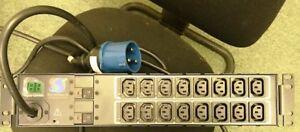 Belle Serveur Tech Inc Pdu Cx-16hek452 Avec Carte Contrôleur équipé 16 Prises-afficher Le Titre D'origine