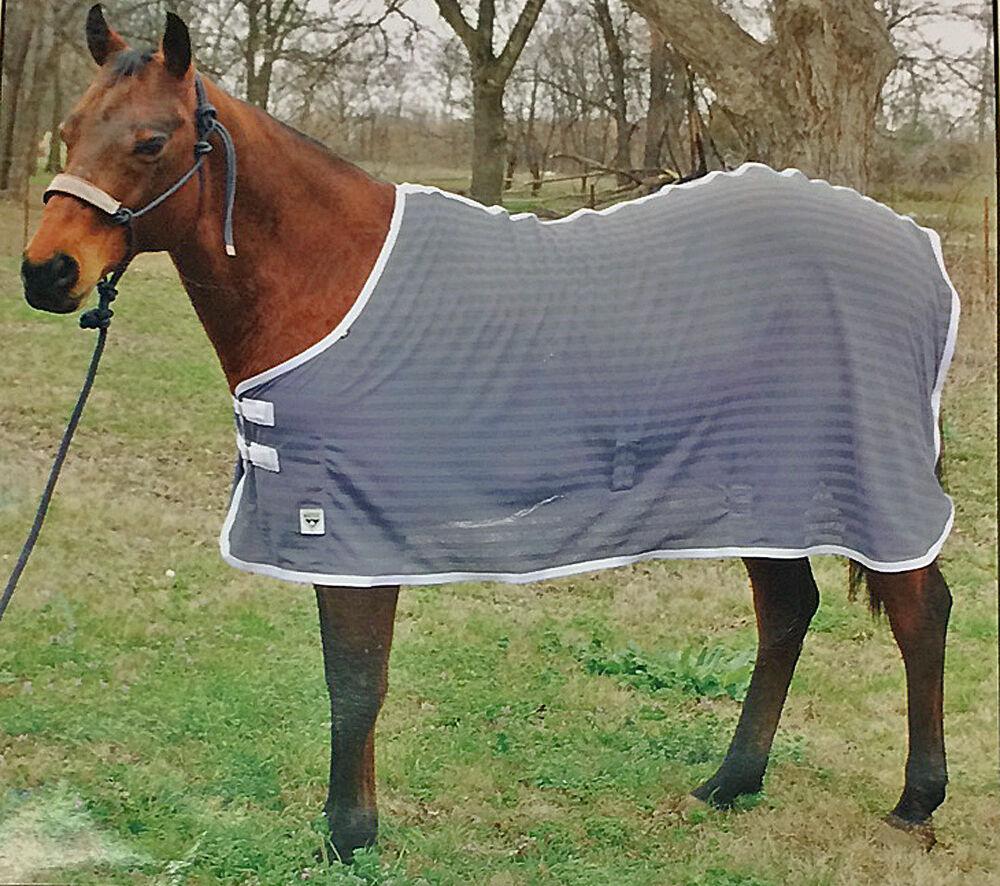 NEW Ozark Leather  Nylon Mesh Fly Sheet 74  for Horses  floor price