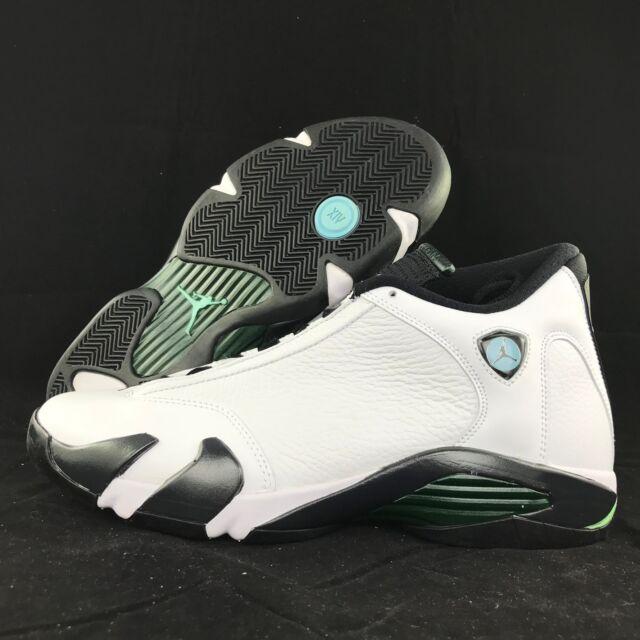 new concept 584b3 a32d4 Nike Air Jordan 14 Retro XIV Oxidized Green Mens Aj14 AJXIV Shoes  487471-106 11.5