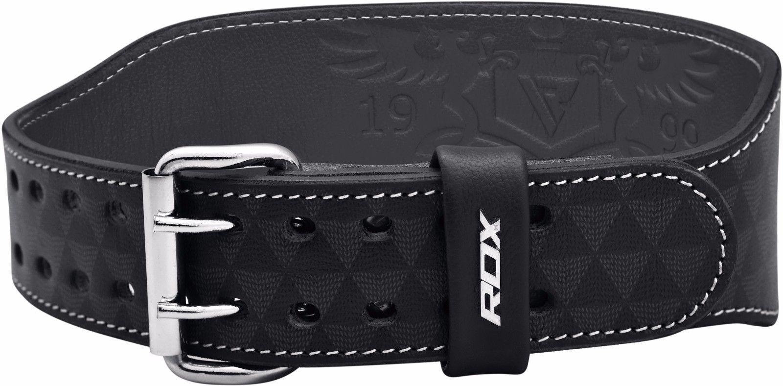 RDX Cuero Cuero RDX Peso Cinturón de elevación Power Gym Soporte para la espalda Culturism 43a911