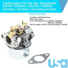 640306a Carburetor Fit Tecumseh Yerf Dog Go Kart 5hp 5 5hp 6hp 6 5hp Engine Usa For Sale Online Ebay
