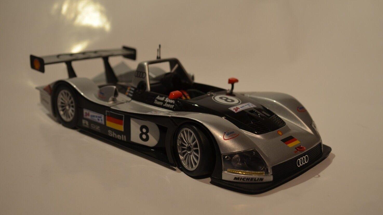 Maisto 1999 Audi R8R Le Mans - Diecast Model - 1 18 Scale