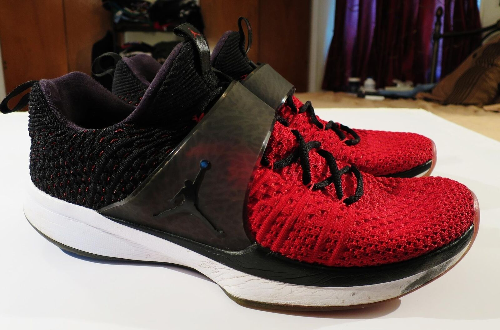 Nike trainer air jordan zoom mit trainer Nike turnschuhe rot - schwarz - e . 821b9b