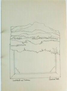 Christian-Roos-Wilhelmshaven-Zeichnung-signiert-O-445
