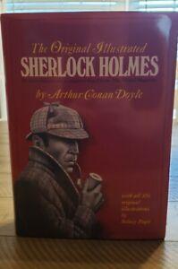 The Original Illustrated Sherlock Holmes by Conan Arthur Doyle (2009, Hardcover…