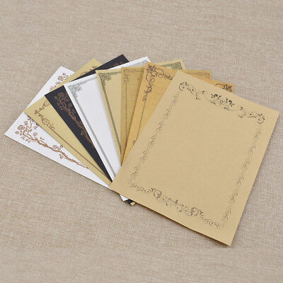 Vintage Retro Writing Paper Stationery Letter Note School Supplies Craft 1 Set