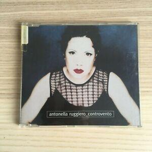 Antonella-Ruggiero-Controvento-CD-Single-PROMO-1999-Universal-RARO