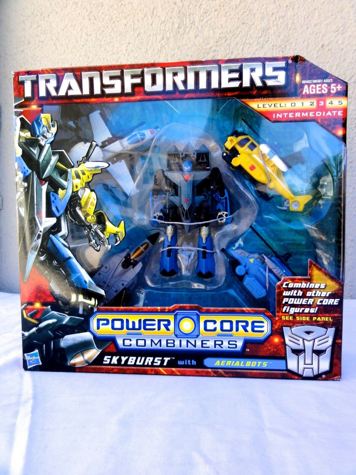 2010 Transformers Power Core Combiner Skyburst W  Aerialbots Sealed MISB MIB BOX