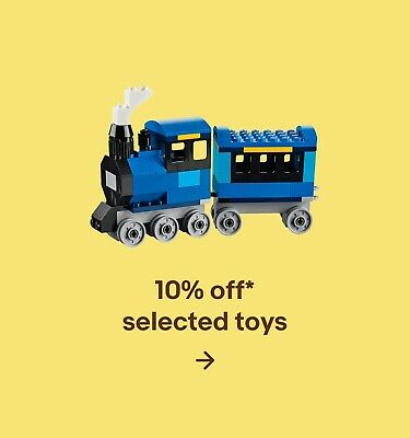 10% off* selected toys