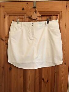 Adidas Short Blanc Taille 18 Neuf Bnwt Sport Jupe De Tennis Poches Ae8934-afficher Le Titre D'origine