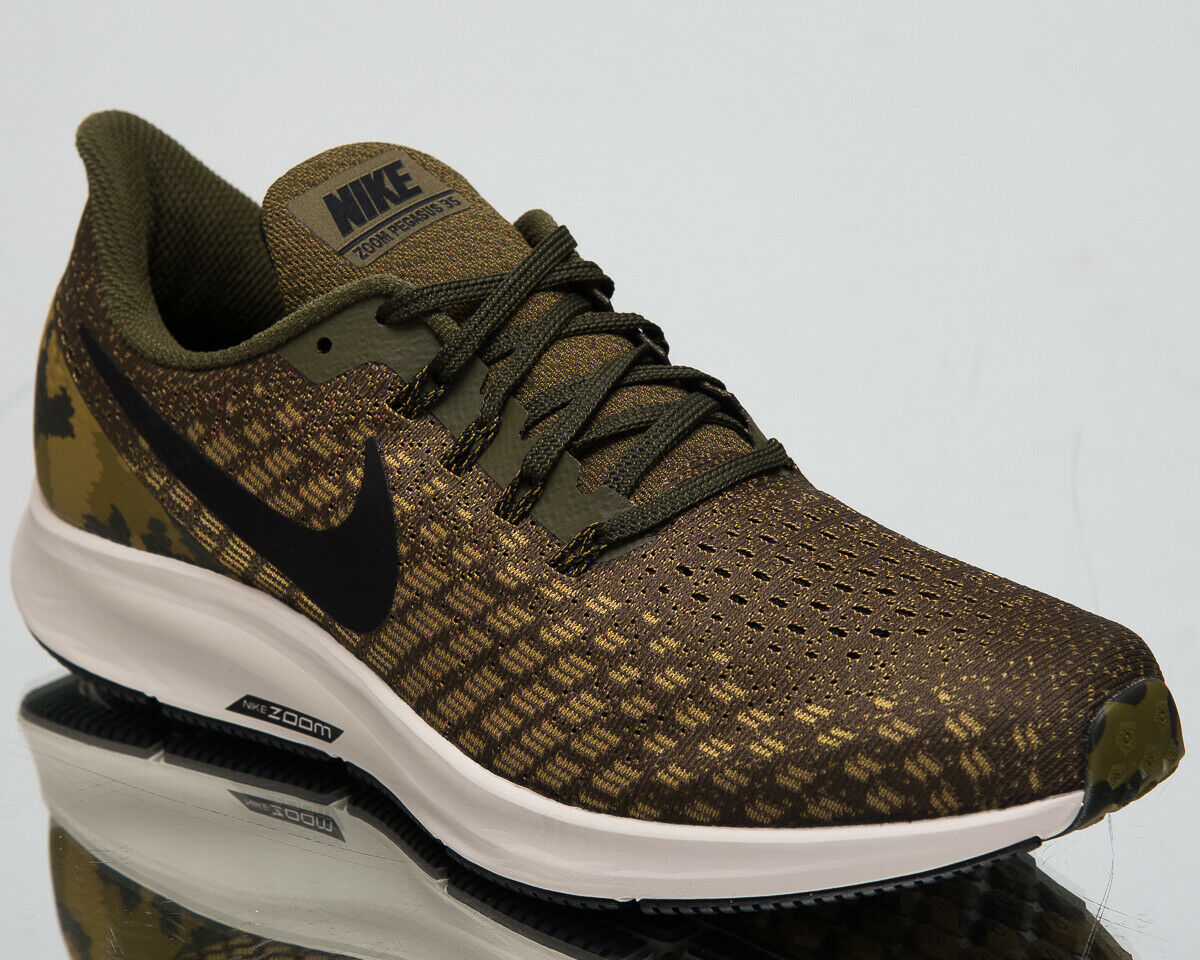 Nike Air Zoom Pegasus 35 GPX Men's New Olive Canvas Running shoes AT9974-301