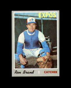 Ron Brand Hand Signed 1970 Topps Montreal Expos Autograph