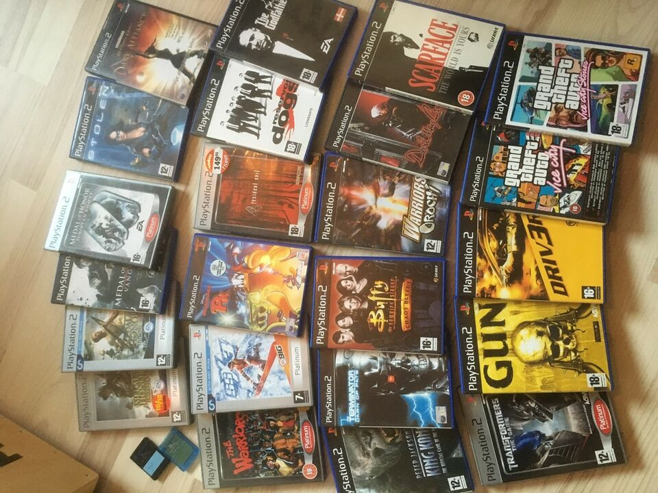 DVD + Bluray, PS2, PS3
