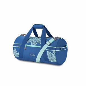 Life-Is-Good-by-High-Sierra-Cargo-Duffel-Mandala-Vintage-Blue-Bermuda-Blue-Ma