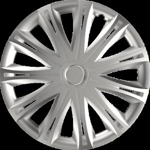 "RENAULT CLIO 14/"" 14 INCH CAR VAN WHEEL TRIMS HUB CAPS SILVER 98-05"