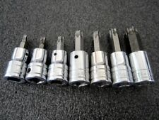 Snap On 38 Drive 7pc Standard Torx Socket Set 207eftxy Underline Usa