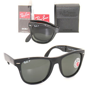 ray ban wayfarer polarized black 9bam  ray ban wayfarer polarized black