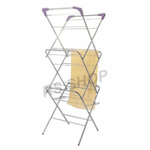 Clothes-Drier-Dryer-Airer-Airation-Air-Flow-Collapsible-Drying-Rack-Hanger