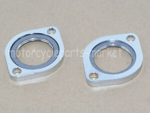 Exhaust-Flange-Kit-W-Graphite-Dount-Gasket-for-Evo-Twin-Cam-Dyna-Sportster-883