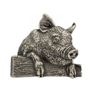 Freundschaftlich Gürtelschließe Schweinchen 4,0 Cm Ferkel Sau Keiler Bauernhof Für