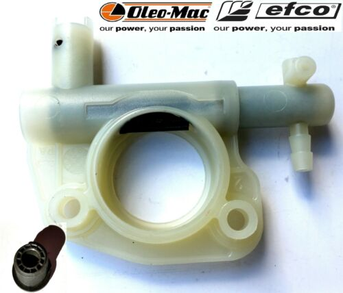 POMPA OLIO ORIGINAL OIL PUMP CHAINSAW OLEO MAC 936-940 EFCO 136-140 CON VITE