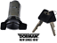 Replacement Ignition Lock Cylinder /& 2 Keys Replace GMC OEM# 16627130 BLACK