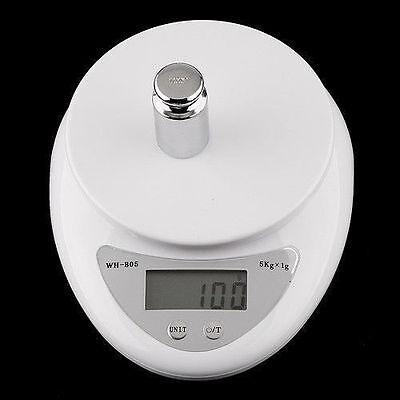 5kg 5000g/1g Digital Kitchen Food Diet Postal Scale Electronic Weight Balance HS