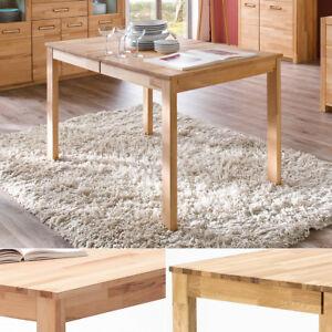 esstisch fabian esszimmertisch tisch kernbuche oder wildeiche massiv ausziehbar ebay. Black Bedroom Furniture Sets. Home Design Ideas