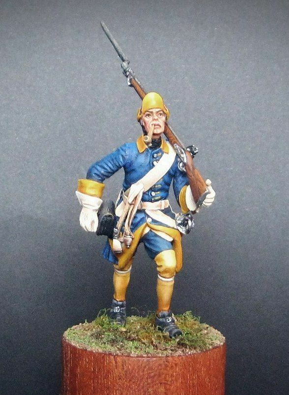 más orden Soldado de estaño, Arte, sueco Mosquetero en marzo, soldado, soldado, soldado, gran guerra del norte, 54 mm  venta mundialmente famosa en línea