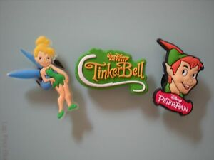 Jibbitz Clog Shoe Plug Button Charm Bracelet Holey Accessories Tinker Bell