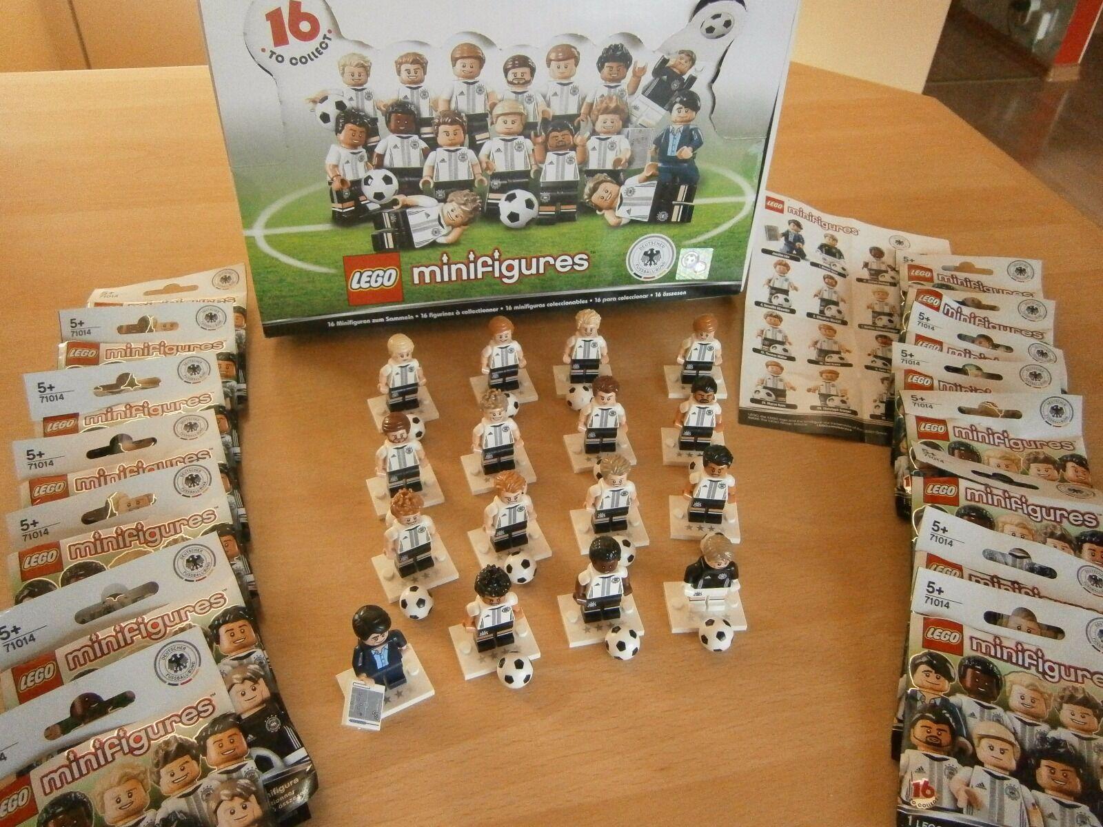 Lego 71014 DFBKomplettsatz 16 Minifiguren Limitiert Unbespielt