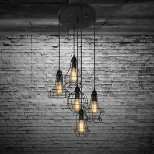 Rustic Pendant Lamp Chandelier Hanging