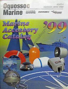 Oquossoc Maine Oquossoc Marine Accessory Catalog 1999 Hondaevinrude