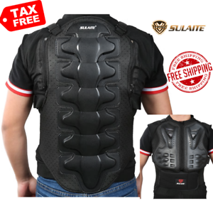 Men/'s Motorcycle Body Armor Jacket Spine Chest Back Protection Riding Gear Guard