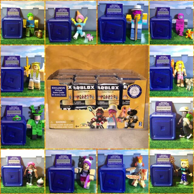 Roblox Celebrity Gold Series 1 2 3 4 EXCLUSIVE Mystery Box Toy Figures+New  Codes