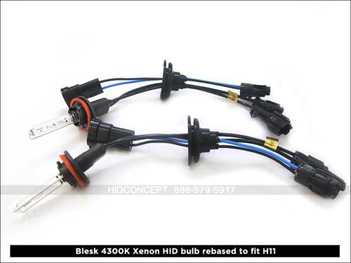 Blesk Xenon HID Headlight Fog light Conversion kit 3000K 4300K 5000K 6000K