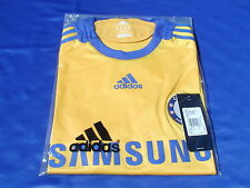 BNWT Rare Adidas Chelsea 2008-2009 Away 3rd Player Issue Short Sleeved Shirt L