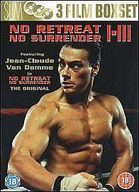 NO RETREAT NO SURRENDER Trilogy Series 1 2 3 - 2006 New Sealed UK Region 2 DVD