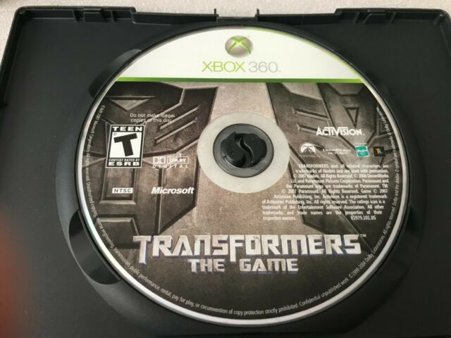 XBox 360 Transformers : The Game  game ( low shipping )
