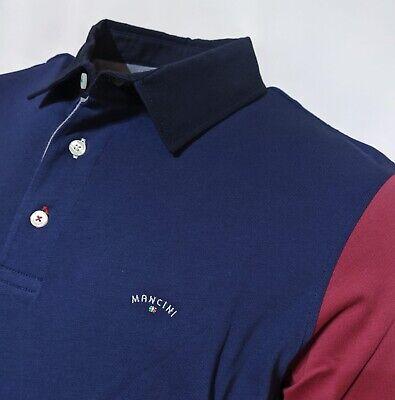 "Mancini  3XL  Chest Measures 51""  Grape Homer Polo Shirt  RRP £89.99"