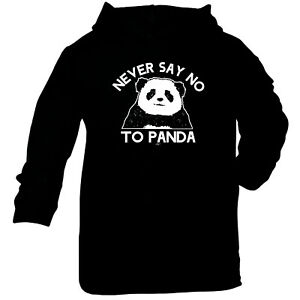 Funny-Baby-Infants-Cotton-Hoodie-Hoody-Never-Say-No-To-Panda