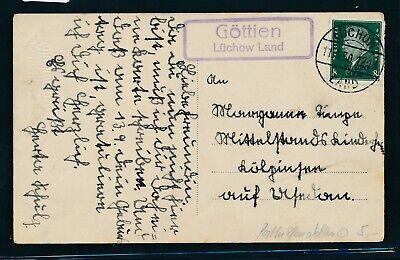 Karte 1930 Mit Dem Besten Service Selbstlos 32526 Landpost Ra2 Göttien Lüchow Land