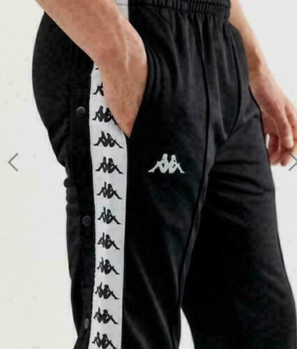 S Kappa Mens 222 Banda Astoria Trainingshose 301EFSOF09 Black Schwarz Gr
