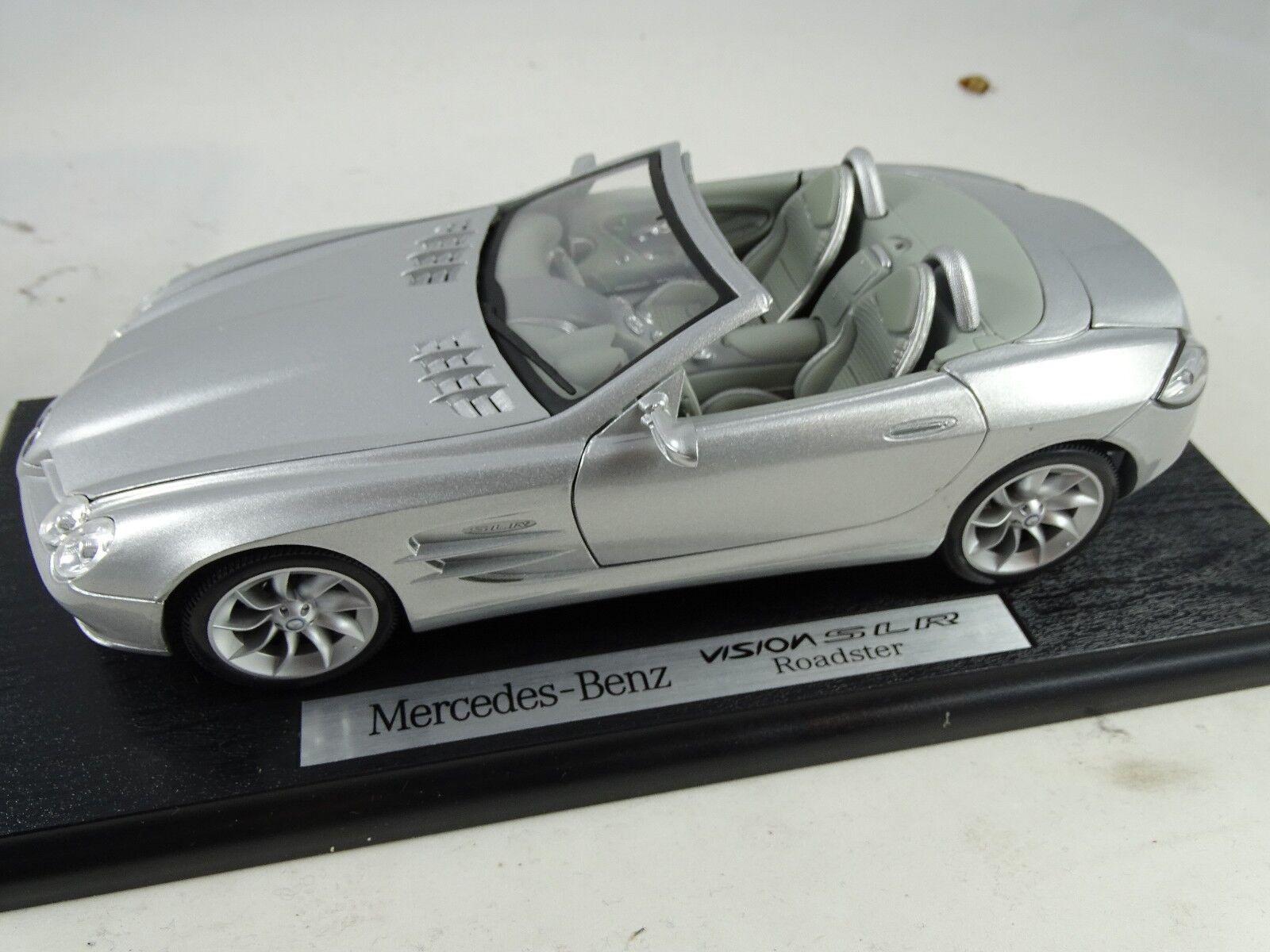 1 18 Dealer Model  B66962107 MERCEDES BENZ VISION SLR Roadster Rarity §