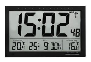 Horloge-de-Mur-Controle-Radio-Etna-Tfa-60-4510-01-Bureau-Salle-D-039-Attente