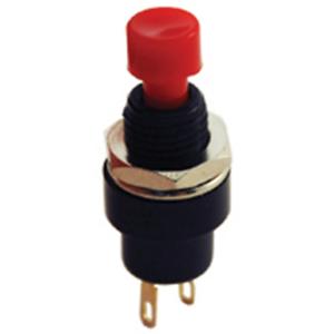 NTE Electronics 54-394 Pushbutton Switch OFF-ON Single Pole SPST Circuit