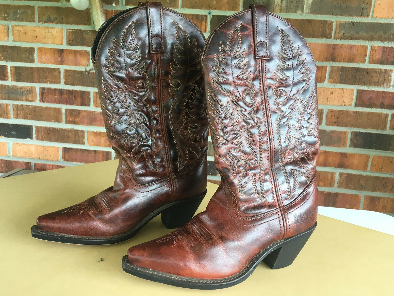 LAREDO 51059 Western Fashion 11  Cowboy Boot Women Sz 6 M (US)            E13(5)